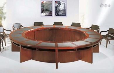 Bàn họp văn phòng tròn 06
